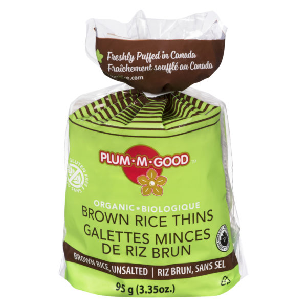 Organic Brown Rice Unsalted Thin Rice Cakes