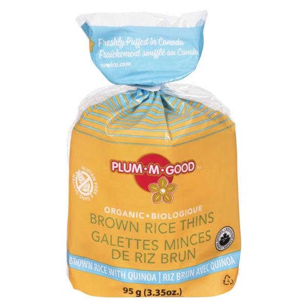 Organic Quinoa Thin Rice Cakes